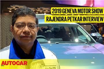 Rajendra Petkar, Tata Motors interview at Geneva motor show 2019 video