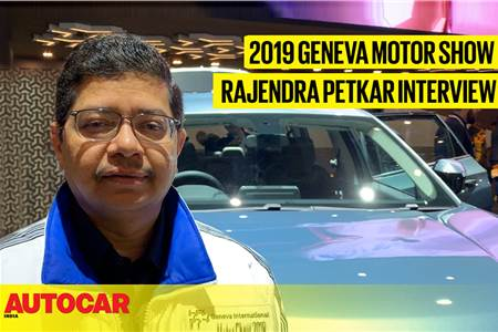 Rajendra Petkar, Tata Motors interview at Geneva motor show 2019 video