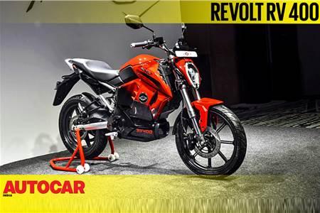 2019 Revolt RV 400 first look video