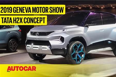 Tata H2X Concept first look video