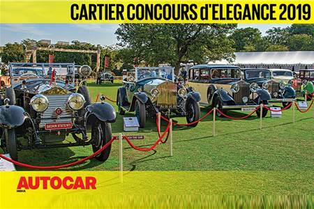 2019 Cartier Concours d'Elegance video