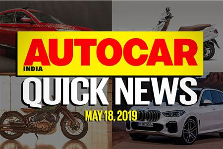 Quick News video: May 18, 2019