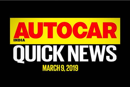 Quick News video: March 9, 2019