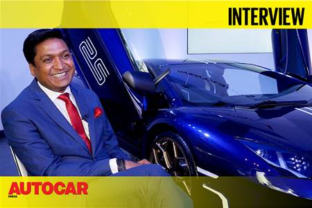 Sharad Agarwal talks about the Aventador SVJ