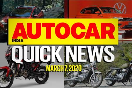 Quick News video: March 7, 2020
