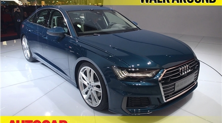 2018 Audi A6 first look video at Geneva
