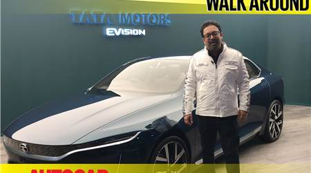 Tata EVision Sedan Concept first look video with Pratap Bose