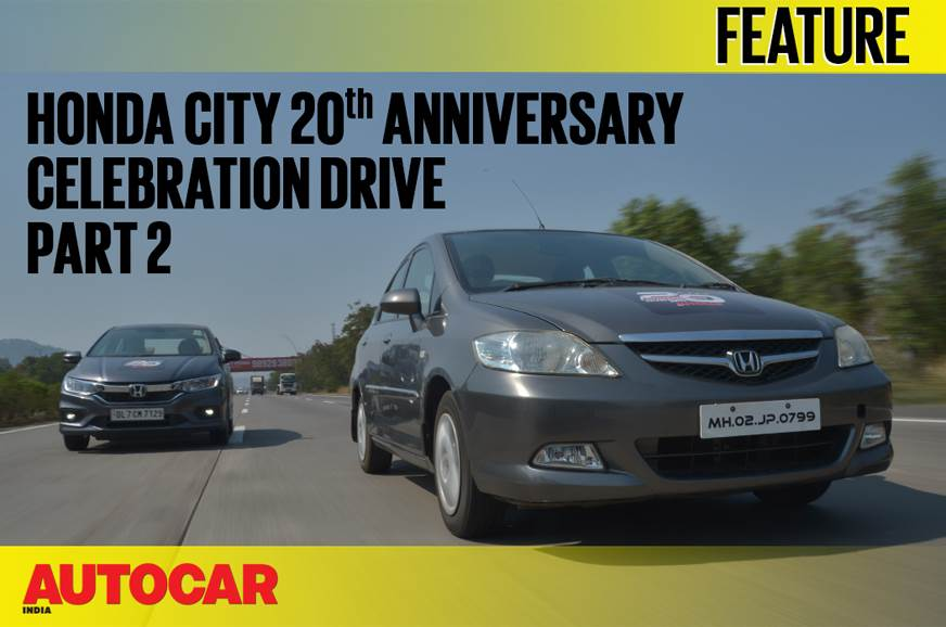 Honda City 20th Anniversary Celebration Drive video part 2