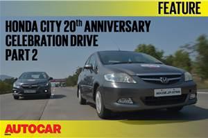 Honda City 20th Anniversary Celebration Drive video part 2