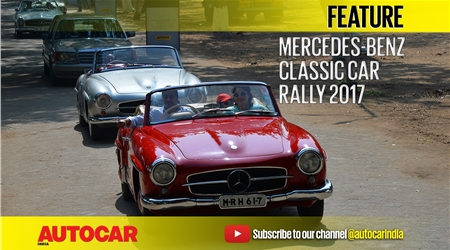 Mercedes-Benz Classic Car Rally 2017 video