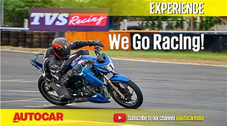 Racing with TVS at the RTR One Make Championship video