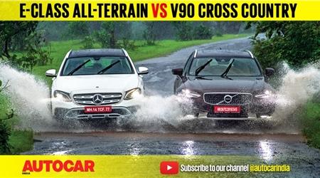 Mercedes-Benz E-class All-Terrain vs Volvo V90 Cross Country Comparison Test