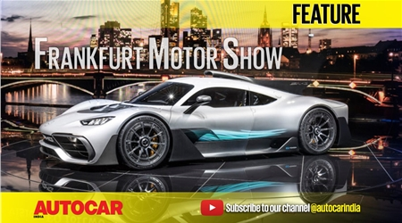 Frankfurt motor show 2017 video round-up