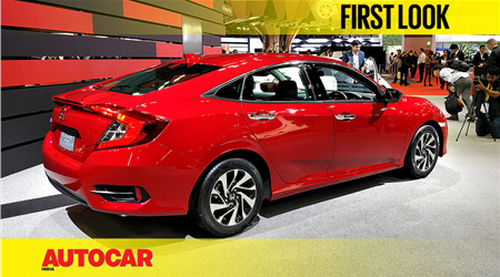 New Honda Civic first look video