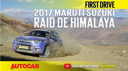 Sponsored feature: 2017 Maruti Suzuki Raid de Himalaya