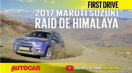 Sponsored feature: 2017 Maruti Suzuki Raid de Himalaya video