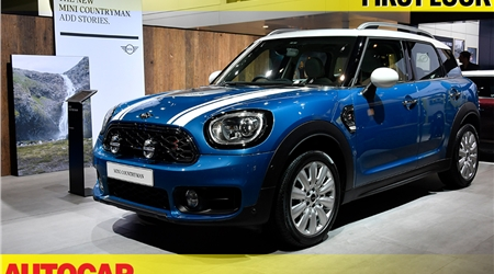 2018 Mini Countryman at Auto Expo 2018 first look video