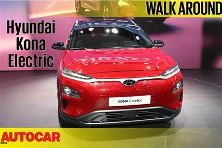 Hyundai Kona Electric first look video