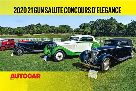 2020 21 Gun Salute Vintage Car Rally and Concours d'Elegance video