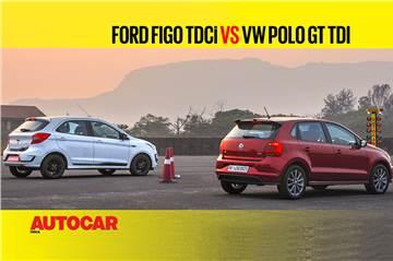 Autocar Drag Day: Ford Figo vs Volkswagen Polo Drag race video