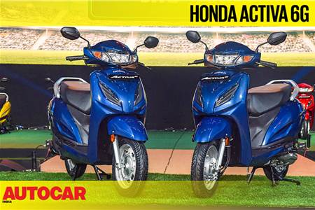 Honda Activa 6G first look video