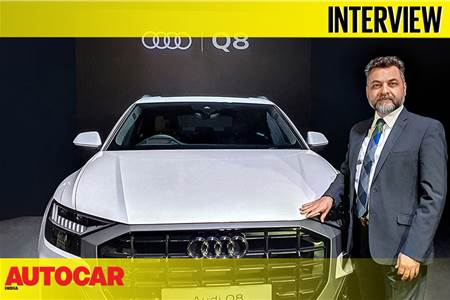 Balbir Singh Dhillon, Head, Audi India interview at 2020 Q8 launch