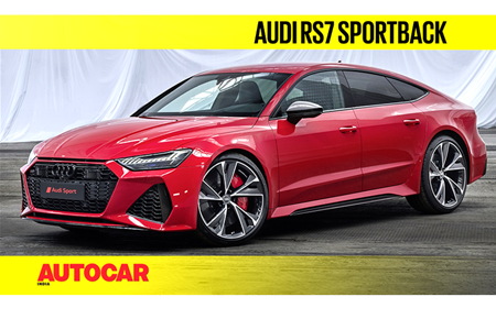2020 Audi RS7 Sportback first look video