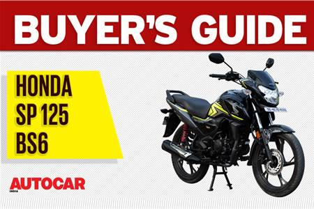 Honda SP 125 BS6 buyer's guide video