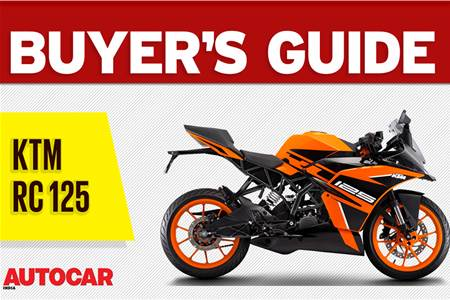2019 KTM RC125 buyer's guide video