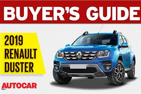 2019 Renault Duster facelift buyer's guide video