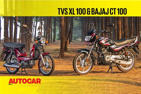 India's most affordable two-wheelers - TVS XL 100 & Bajaj CT 100 video