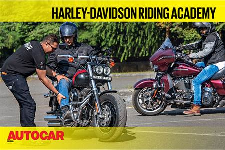 Harley Davidson Riding Academy video