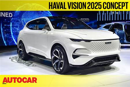 Haval Vision 2025 concept first look video