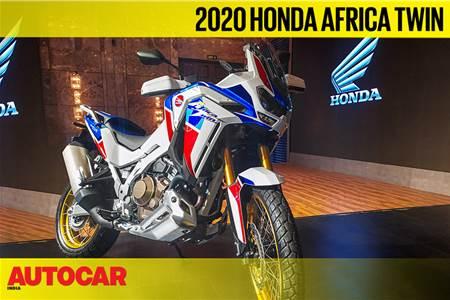 2020 Honda Africa Twin Adventure Sports first look video