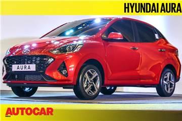 Hyundai Aura walkaround video