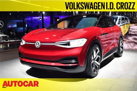 Volkswagen ID Crozz concept first look video