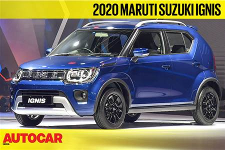 2020 Maruti Suzuki Ignis facelift first look video
