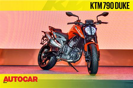 2019 KTM 790 Duke first look and walkaround video