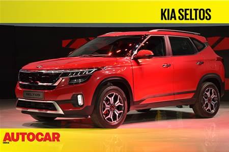 2019 Kia Seltos first look video