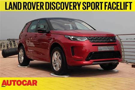 2020 Land Rover Discovery Sport facelift first look video