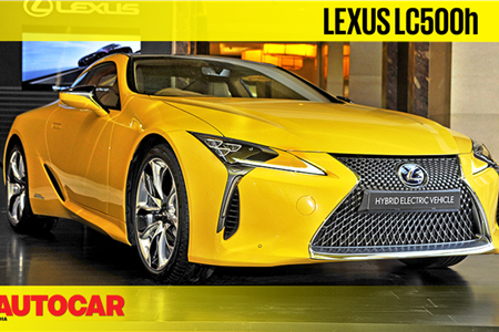 Lexus LC500h first look video