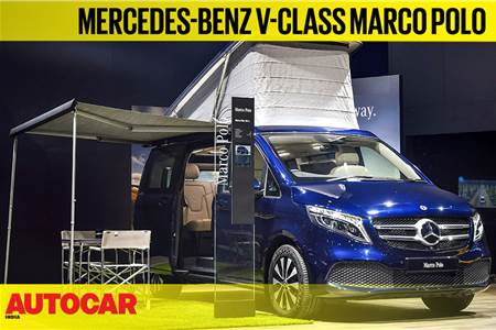 Mercedes-Benz V-class Marco Polo first look video