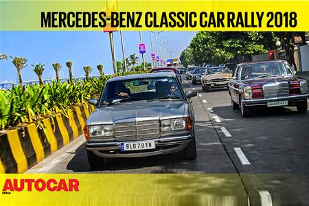 2018 Mercedes-Benz Classic Car Rally video