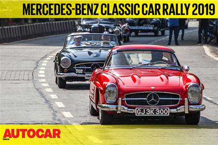 2019 Mercedes-Benz Classic Car Rally video