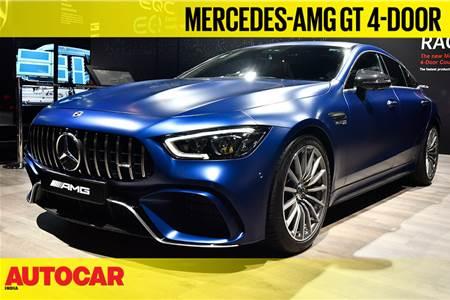 Mercedes-Benz AMG GT 63S 4-door Coupe first look video