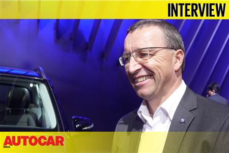 Martin Schwenk, MD and CEO, Mercedes-Benz India interview at Auto Expo 2020