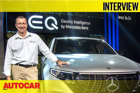 Martin Schwenk, MD and CEO, Mercedes-Benz India interview