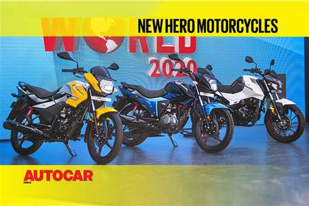 Bikes at Hero World 2020: A close look