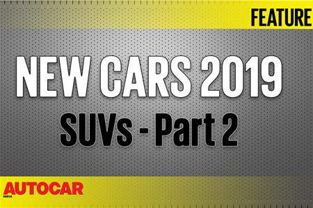 New Cars for 2019 - SUVs Part 2 video