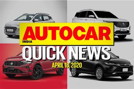 Quick News video: April 18, 2020